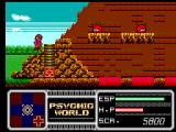 Psychic World SEGA Master System Monsters abound