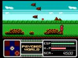 Psychic World SEGA Master System Flying prairie monsters
