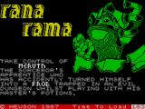 Rana Rama ZX Spectrum Loading sequence