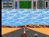 Fire & Forget II SEGA Master System Nasties on hover bikes