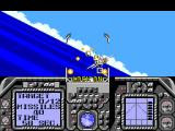 G-Loc Air Battle SEGA Master System Shooting at enemy planes