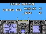 G-Loc Air Battle SEGA Master System Mission completed