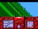 G-Loc Air Battle SEGA Master System Taking damage
