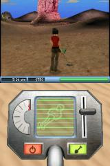 The Sims 2 Nintendo DS Diggin' up a mummy... with a metal detector