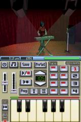 The Sims 2 Nintendo DS Play some music