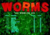 Worms Genesis Worms List