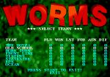 Worms Genesis League Begins