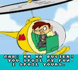Tiny Toon Adventures: Buster Saves the Day Game Boy Color Intro:  What does that Max, the bratty millionaire done this time?