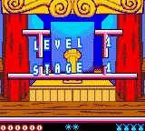 Tiny Toon Adventures: Buster Saves the Day Game Boy Color Level start