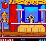Tiny Toon Adventures: Buster Saves the Day Game Boy Color Which is when you should destroy them with your hammer