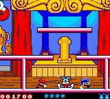 Tiny Toon Adventures: Buster Saves the Day Game Boy Color Don't let the enemies touch you or you will lose a life