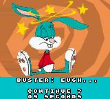 Tiny Toon Adventures: Buster Saves the Day Game Boy Color If you lose all your lives, you will still have several chances to continue