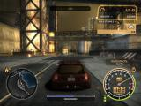 Need for Speed: Most Wanted (Black Edition) Windows Looking for a hideout in order to wait for the cool down.