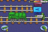 Army Men: Advance Game Boy Advance The trains are a pain when you need to cross so taking them out helps a lot