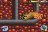 Army Men: Advance Game Boy Advance The flamethrower makes short work of the tan soldier
