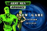Army Men: Advance Game Boy Advance Title screen