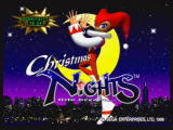 Christmas NiGHTS into Dreams... SEGA Saturn Christmas NiGHTS Title Screen