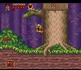 The Great Circus Mystery starring Mickey & Minnie SNES With the Safari Outfit Mickey can climb surfaces