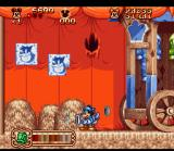 The Great Circus Mystery starring Mickey & Minnie SNES With the vacuum you can suck up small enemies and change them into silver coins!