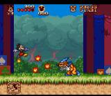 The Great Circus Mystery starring Mickey & Minnie SNES Jump over enemies and obstacles