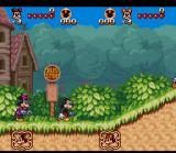 The Great Circus Mystery starring Mickey & Minnie SNES Two player mode