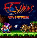 Flynn's Adventures J2ME Title screen (MotorolaV3 version)