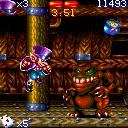 Flynn's Adventures ExEn Level 9 this big enemy is hard to kill since you need to jump twice on his back (ExEn version)