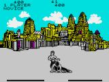 Fist: The Legend Continues ZX Spectrum One of the moves in action