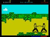 Fist: The Legend Continues ZX Spectrum Into battle
