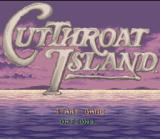 Cutthroat Island SNES Title screen.