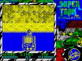 Super Tank Simulator ZX Spectrum Game start