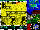 Super Tank Simulator ZX Spectrum Took out 2 turrets, now on the move