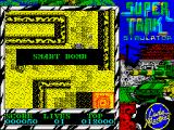 Super Tank Simulator ZX Spectrum Picked up extra weaponry