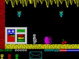 Robot Messiah ZX Spectrum Game start