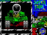 Super Tank Simulator ZX Spectrum Loading screen
