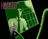 Hacker MSX Title screen