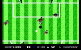 Keith Van Eron's Pro Soccer DOS Ingame, it's raining (Outdoor)