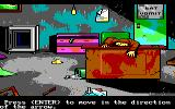 Manhunter 2: San Francisco DOS Crime scene