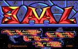 Baal DOS Title screen