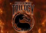 Mortal Kombat Trilogy Windows Title screen.