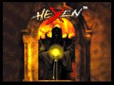 Hexen: Beyond Heretic Nintendo 64 Title screen.