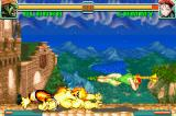 Super Street Fighter II: Turbo Revival Game Boy Advance The meeting of both moves Blanka's Sliding Punch and Cammy's Spiral Arrow.