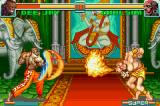 Super Street Fighter II: Turbo Revival Game Boy Advance To protect himself from Dee Jay's Max Out, Dhalsim strikes back with his Yoga Flame.