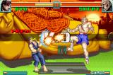 Super Street Fighter II: Turbo Revival Game Boy Advance Sagat attacks Ryu at the same time with him, causing a double damage... Ryu won!