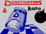 Deactivators ZX Spectrum Loading screen