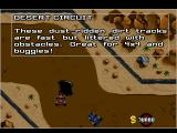 Overdrive DOS Desert Circuit - description
