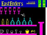 EastEnders ZX Spectrum Pour drinks down at the Queen Victoria public house