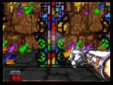 Hexen: Beyond Heretic Nintendo 64 Destroy stained glass to get magic items.