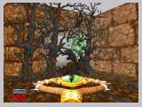 Hexen: Beyond Heretic Nintendo 64 You can even destroy trees.