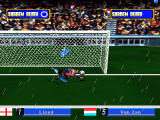 Sega Worldwide Soccer '97 Windows Saving a penalty
